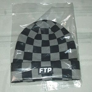 Ftp checkerd board winter beanie